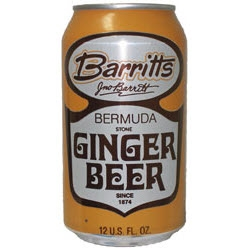 BARITTS GINGER BEER CANS