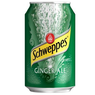 SCHWEPPS GINGERALE CANS